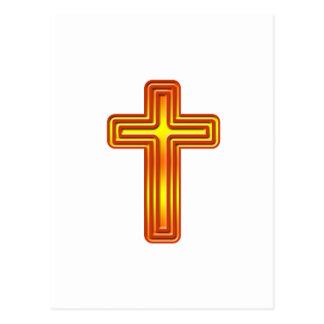 Layered Cross 2 Postcard