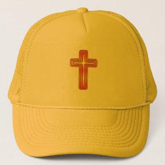 Layered Cross 2 Trucker Hat