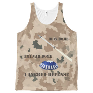 Layered Defense All-Over-Print Tank Top