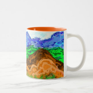 Layered design mug - Nature inspired