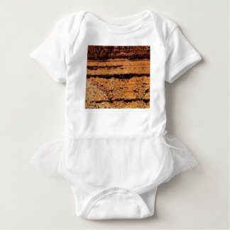 layered gravel wall baby bodysuit