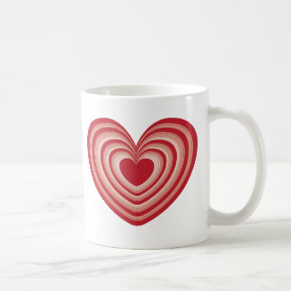 Layered Hearts Mug
