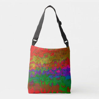 """""""Layered in Color"""" Cross Body Tote Bag"""