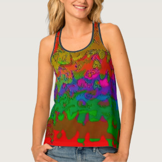 """Layered in Color"" Racerback Tank Top"