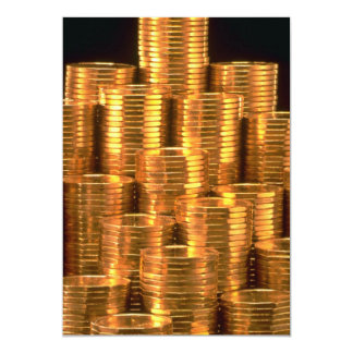 Layered loonies 5x7 paper invitation card