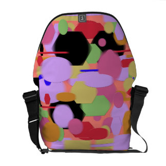 Layered Pasties Messenger Bag
