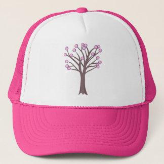 Layered Pink Polka Dots Tree Hats