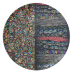 Layered Realms Decorative Plate