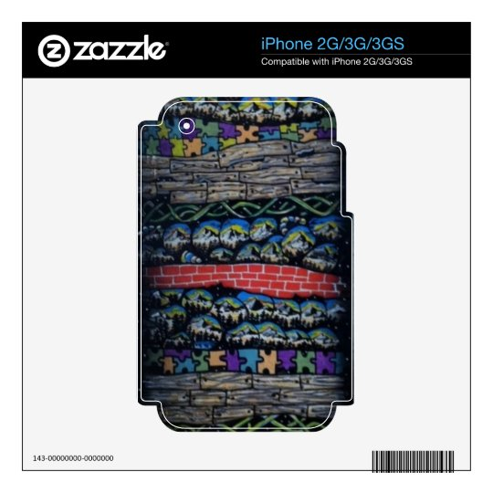 Layered Realms Electronics Skins Skin For The iPhone 2G