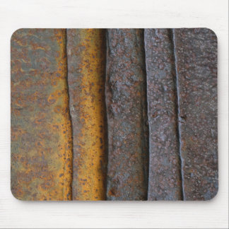 layered rust mouse pad