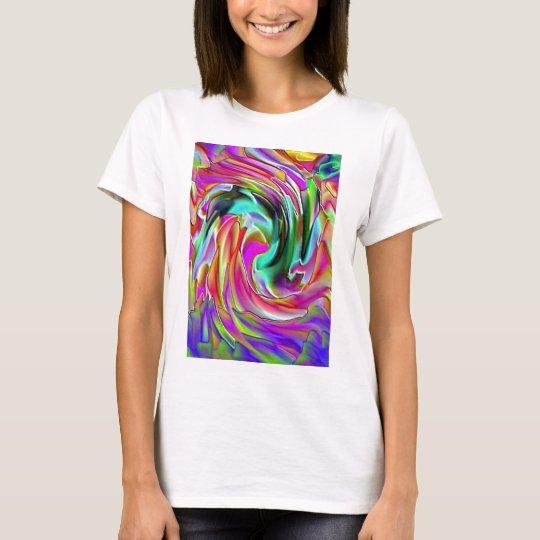 Layered Silk T-Shirt