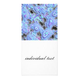 layered stone blue (I) Photo Card