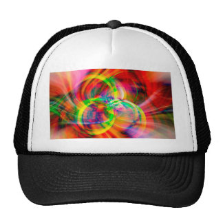 Layered Swirls Trucker Hat