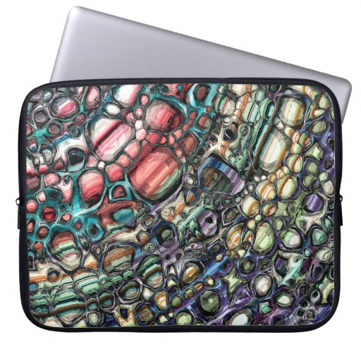 Layers And Texture Laptop Sleeve