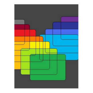 Layers of Color Collection Postcard