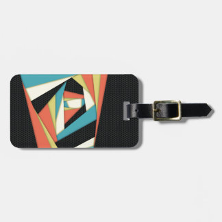 Layers of Color Tags For Luggage