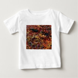 layers of colorful leaves baby T-Shirt