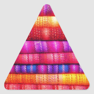 Layers of Colors ! Triangle Sticker