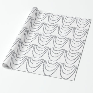 Layers of Diamonds Wrapping Paper