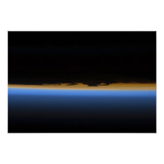 Layers of Earth's atmosphere Poster