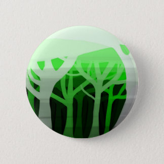 Layers of forest pinback button