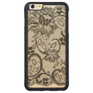 Layers Of Lace Carved® Maple iPhone 6 Plus Bumper Case