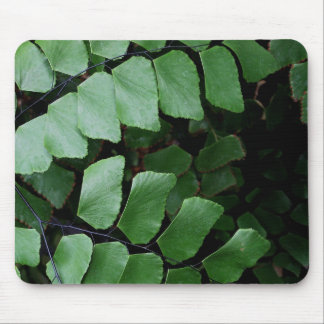 layers of leaves mouse pad