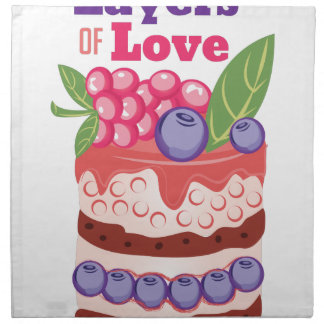 Layers Of Love Cloth Napkin