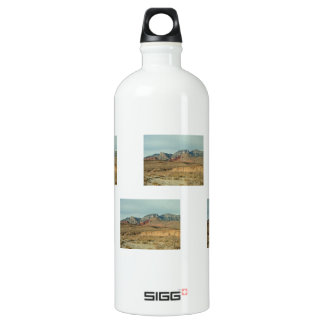 Layers of Red Rock Aluminum Water Bottle