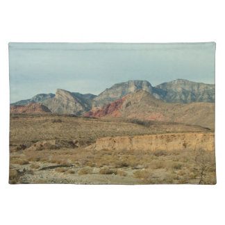 Layers of Red Rock Cloth Placemat