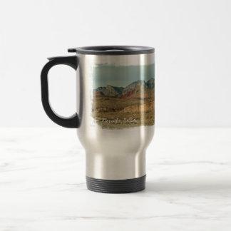 Layers of Red Rock; Nevada Souvenir Travel Mug