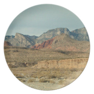 Layers of Red Rock Plate