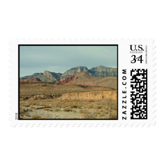 Layers of Red Rock Postage