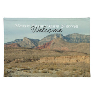 Layers of Red Rock; Promotional Cloth Placemat