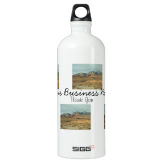 Layers of Red Rock; Promotional Water Bottle