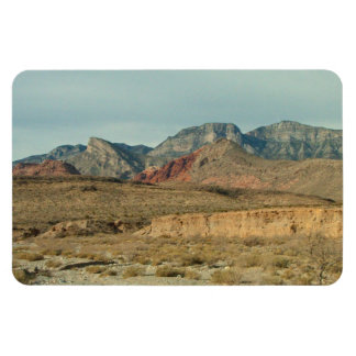 Layers of Red Rock Rectangular Photo Magnet