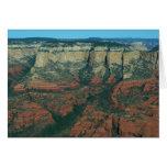 Layers of Red Rocks I in Sedona Arizona Card