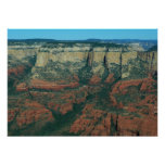 Layers of Red Rocks I in Sedona Arizona Poster