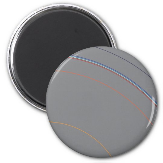 Layers of the Earth 2 Inch Round Magnet