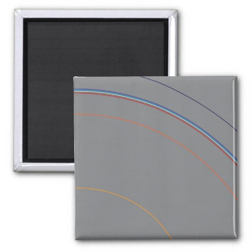 Layers of the Earth Refrigerator Magnet