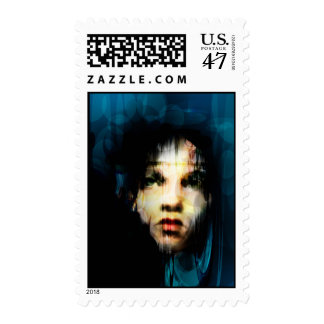 «Layers of the Soul» Postage Stamp