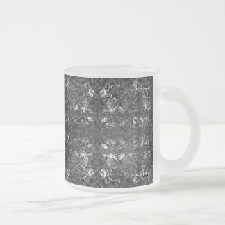 Layers of Thought 10 Oz Frosted Glass Coffee Mug