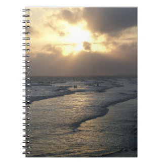 Layers of Tranquility Spiral Note Book