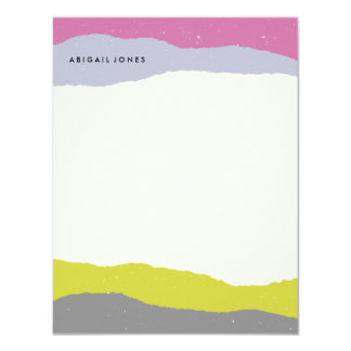 Layers Stationery - Chartreuse Card
