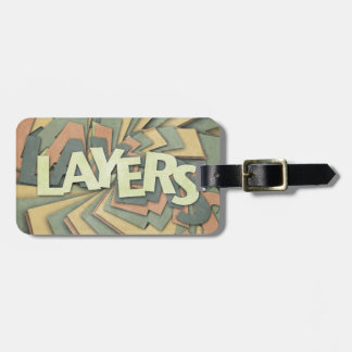 Layers Tags For Luggage