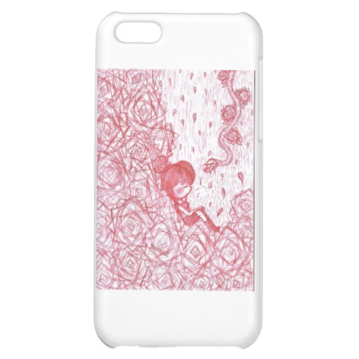 Laying in Roses Cover For iPhone 5C