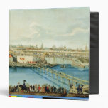 Laying of the Moskvoretsky Bridge in Moscow Vinyl Binders