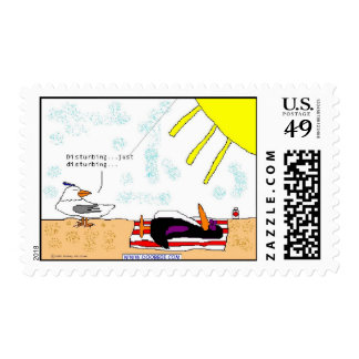 Laying out stamp