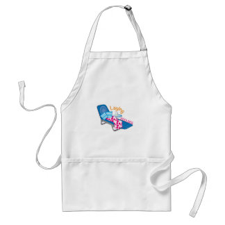 Laying Poolside Standard Apron