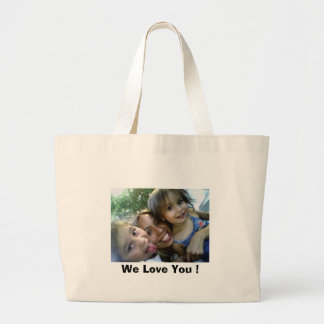 LAyLA%2C%20AUNTiE%2C%20%26%20NEvAEH[1], We Love... Large Tote Bag
